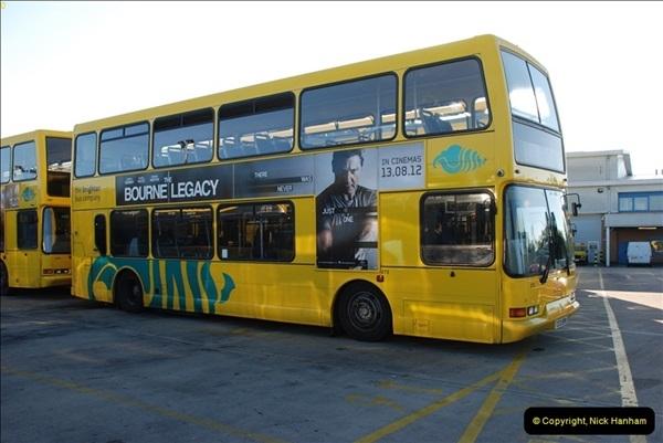 2012-08-26 Yellow Buses Yard Visit.  (28)028