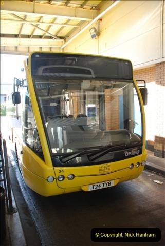 2012-08-26 Yellow Buses Yard Visit.  (61)061