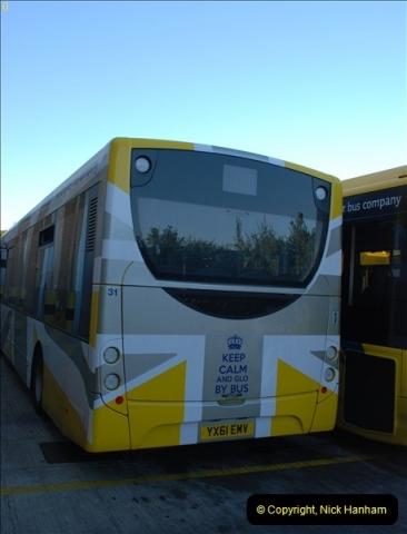 2012-08-26 Yellow Buses Yard Visit.  (78)078
