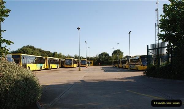 2012-08-26 Yellow Buses Yard Visit.  (8)008