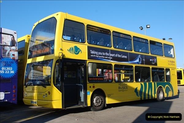 2012-08-26 Yellow Buses Yard Visit.  (99)099