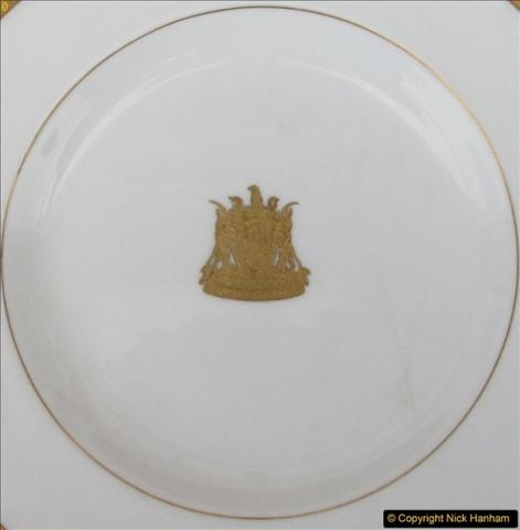 2017-02 -17 Zimbabwe Railways dinner service plate from the Bulawayo Railway Museum, Zimbabwe.  (2)2
