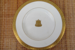 2017-02 -17 Zimbabwe Railways dinner service plate from the Bulawayo Railway Museum, Zimbabwe.  (1)1