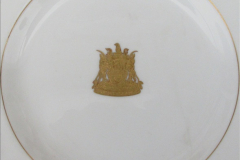 2017-02 -17 Zimbabwe Railways dinner service plate from the Bulawayo Railway Museum, Zimbabwe.  (2)2